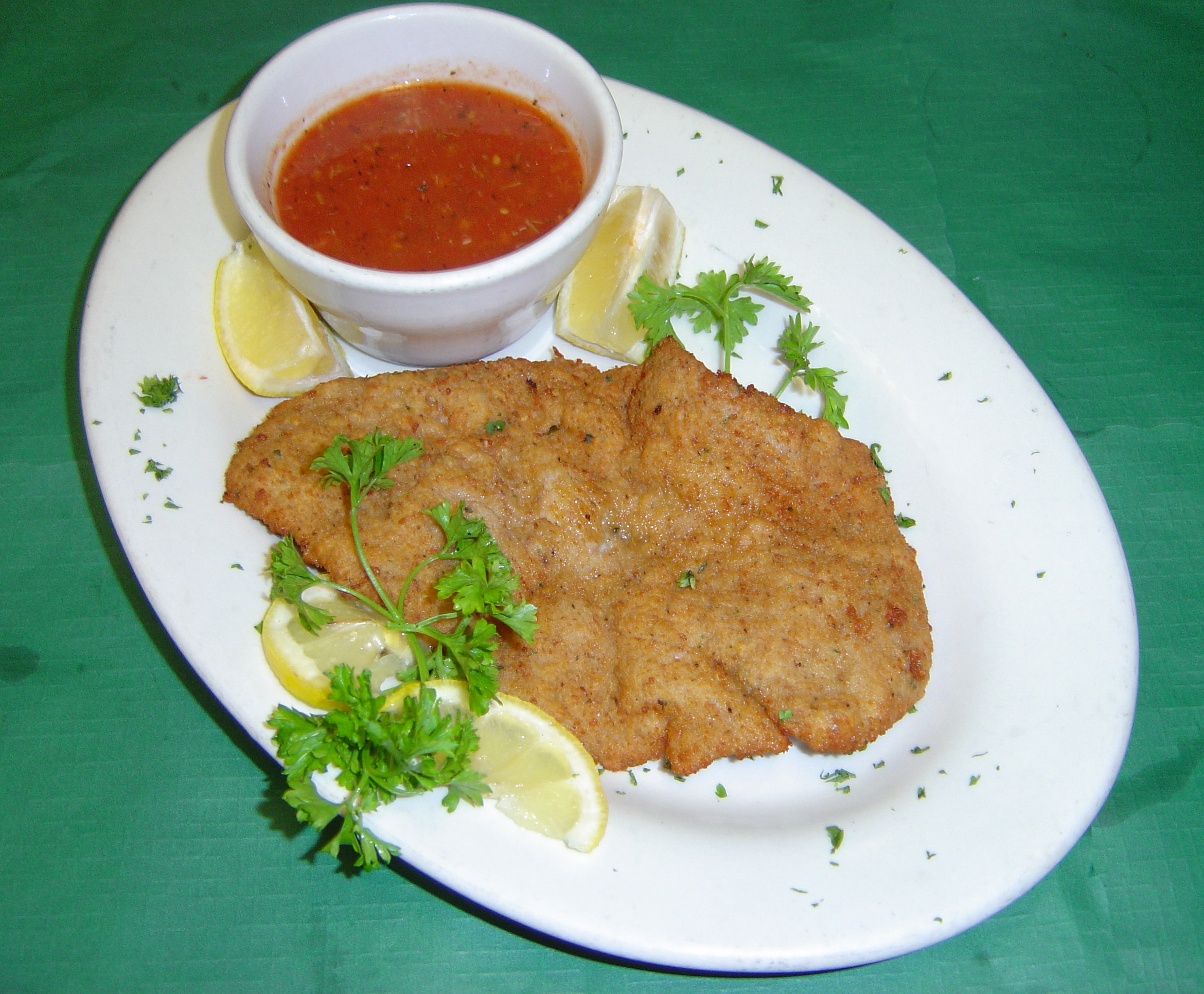 how to prepare veal milanese
